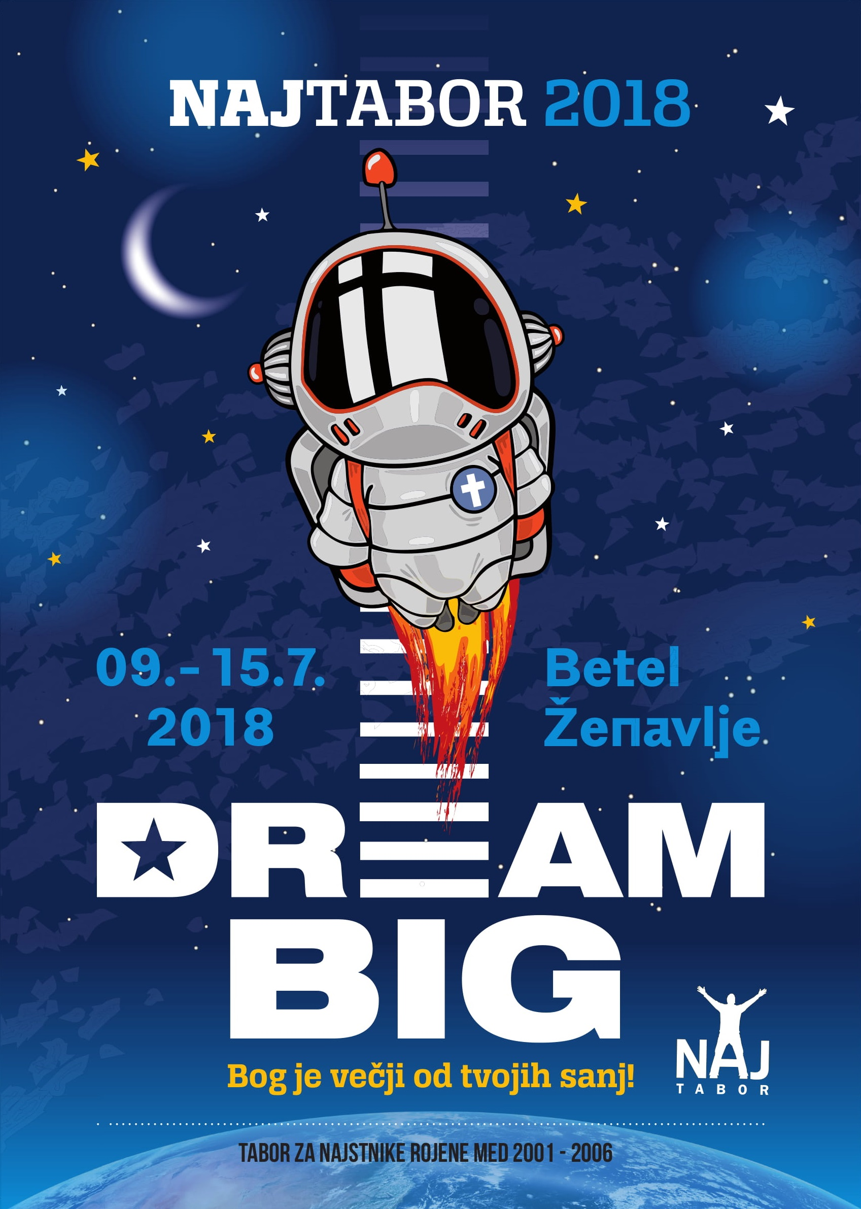 Dream big - NajTabor 2018